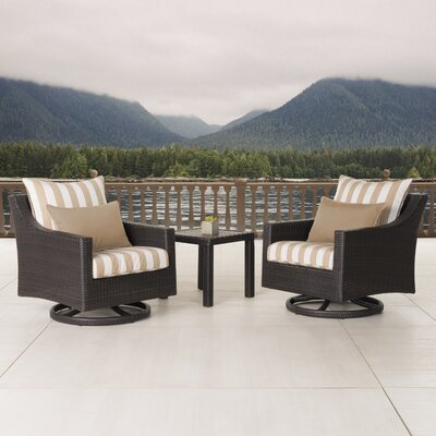Northridge 3 Piece Deep Seating Group Fabric: Maxim Beige