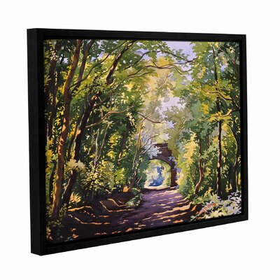 The Valley Walk Sudbury Framed Painting Print