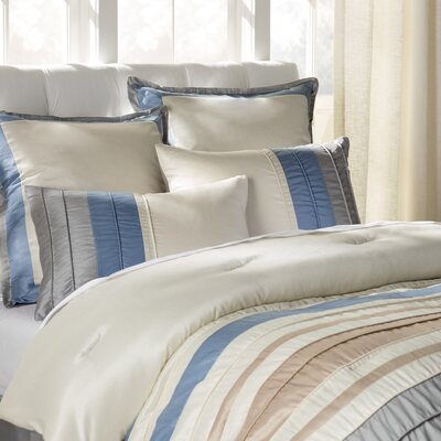 Saxonburg 8 Piece Comforter Set Size: King