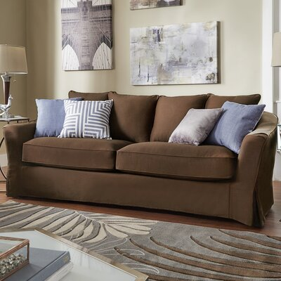 Blackwater Sofa Upholstery: Brown