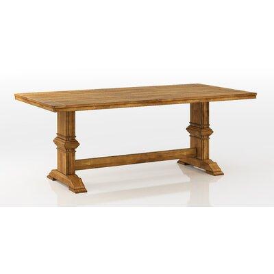 Fortville Dining Table Base Finish: Oak