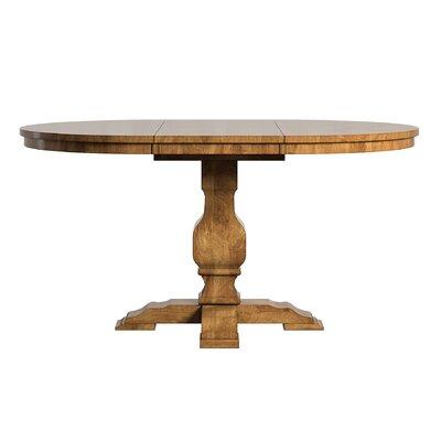 Fortville Extendable Dining Table Base Finish: Oak