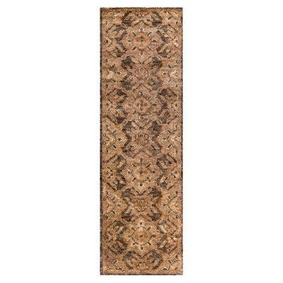 Curry Honey Rug Rug Size: Runner 26 x 8
