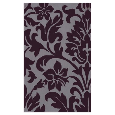 Pollard Prune Purple/Dove Gray Rug Rug Size: 9' x 13'