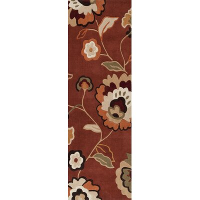 Marcellus Burnt Sienna Rug Rug Size: Rectangle 9 x 13