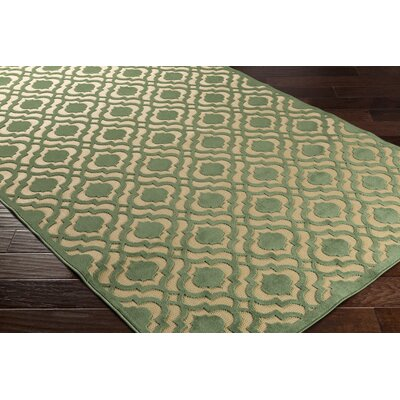 Countryman Geometric Indoor/Outdoor Area Rug Rug size: Rectangle 39 x 58