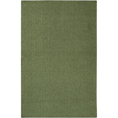 Deschamps Hand-Woven Green Indoor/Outdoor Area Rug Rug Size: Rectangle 23 x 45