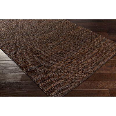 Desousa Hand-Woven Brown Area Rug Rug Size: Rectangle 8 x 10