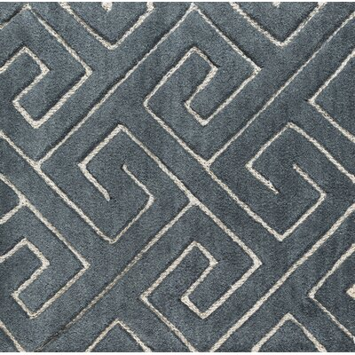 Hereford Hand-Tufted Gray Area Rug Rug Size: 8 x 10