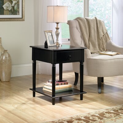 Babson Side Table Finish: Black