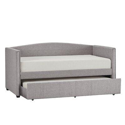 Claflin Daybed and Trundle Color: Gray