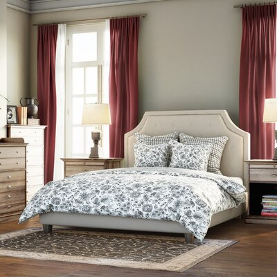 Haysville Upholstered Platform Bed Size: Queen