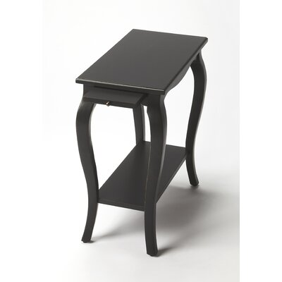 Chairside End Table Finish: Black Licorice