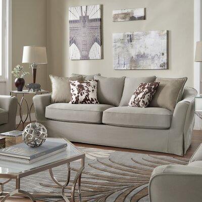Blackwater Sofa Upholstery: Gray