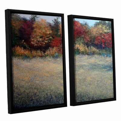 Halcyon 2 Piece Framed Painting Print Set
