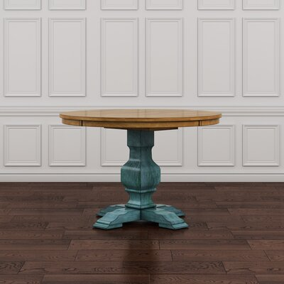 Fortville Dining Table Base Finish: Dark Sea Green