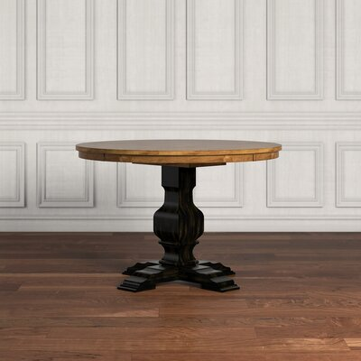 Fortville Dining Table Base Finish: Antique Black