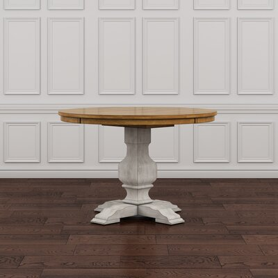 Fortville Dining Table Base Finish: Antique White