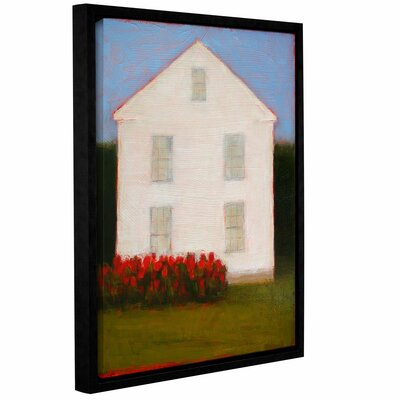 White House Framed Original Painting on Canvas