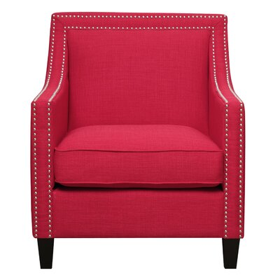 Rotterdam Armchair Upholstery: Berry - Red