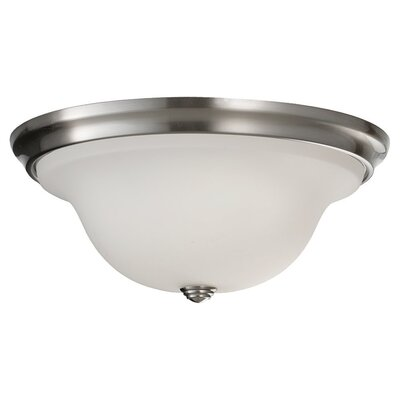 Pearce 2-Light Flush Mount Size: 5