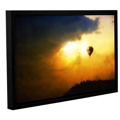 'Close Enough' Framed Photographic Print on Wrapped Canvas Size: 12