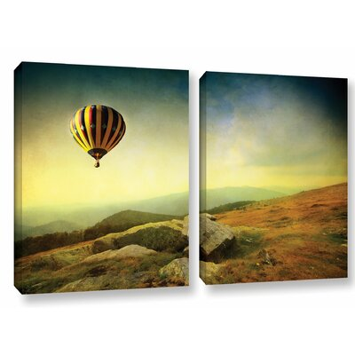 Keys to Imagination III 2 Piece Photographic Print on Wrapped Canvas Set