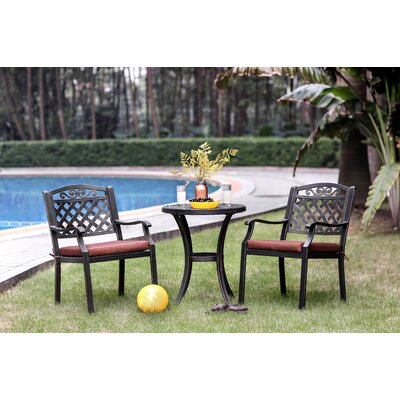 Adaline 3 Piece Dining Set