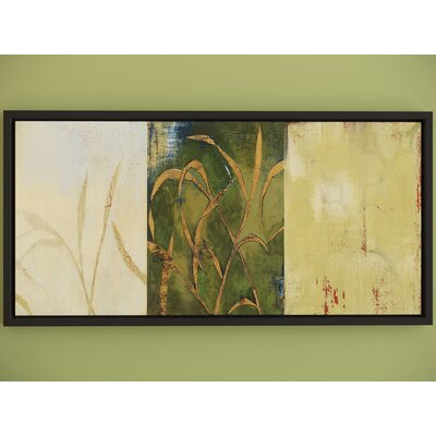 Grass Framed Painting Print