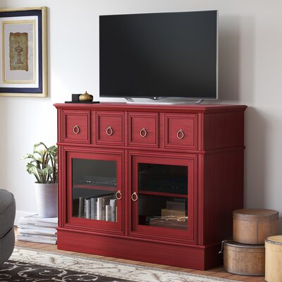 Callicoon 39.75  TV Stand Color: Red