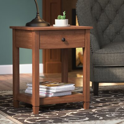 Lamantia End Table Finish: Auburn Cherry