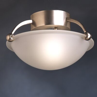 Erin 1-Light Semi Flush Mount