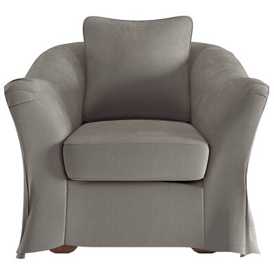 Blackwater Barrel Chair Upholstery: Gray