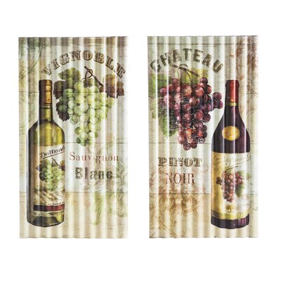 Vintaged Wine Wall Decor
