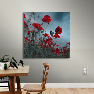 Hot Cold Contrast Photographic Print on Wrapped Canvas