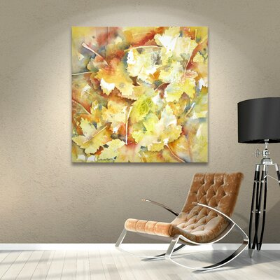 Autumn 3 Painting Print on Wrapped Canvas Size: 10