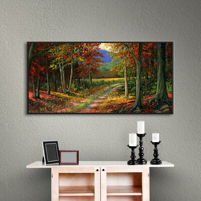 Forgotten Road Framed Painting Print