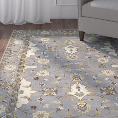Lyndora Handmade Area Rug Rug Size: 8 x 10