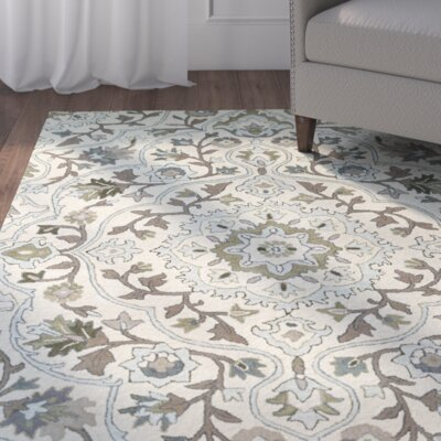 Lyndora Handmade Area Rug Rug Size: Rectangle 8 x 10