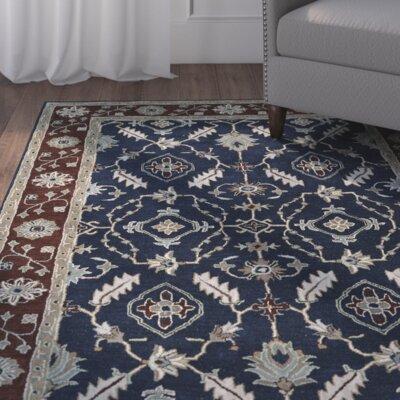 Lyndora Handmade Area Rug Rug Size: 9 x 12
