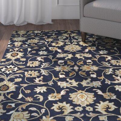 Lyndora Handmade Area Rug Rug Size: 3 x 5