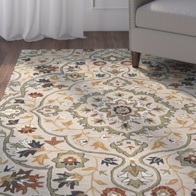Lyndora Handmade Wool Oriental Area Rug Rug Size: Rectangle 2 x 3