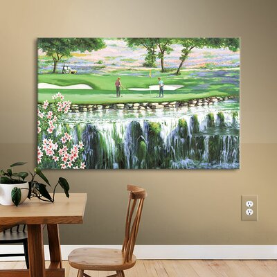 7th At Hills of Lakeway Painting Print on Wrapped Canvas