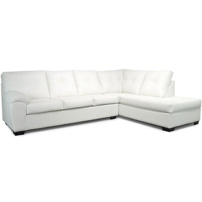 Camden Sectional Upholstery: White