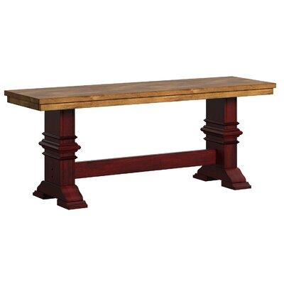 Fortville Wood Dining Bench