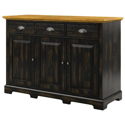 Fortville Sideboard Base Color: Antique Black