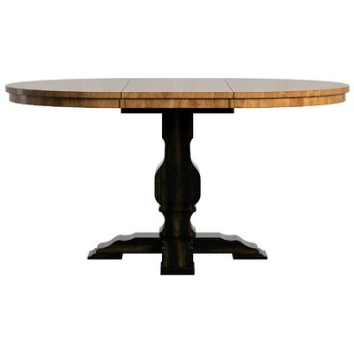 Fortville Extendable Dining Table Base Finish: Antique Black