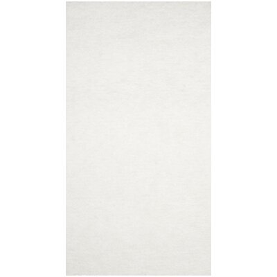 Detweiler Hand-Tufted White Area Rug Rug Size: 8 x 10