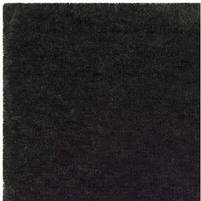 Detweiler Hand-Tufted Charcoal Area Rug Rug Size: Square 6