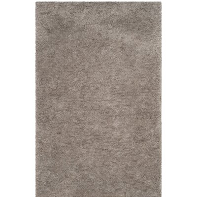 Detweiler Hand-Tufted Gray Area Rug Rug Size: Rectangle 26 x 4